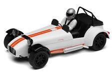 Scalextric C3093 Caterham R500 in white - 1:32 scale slot car