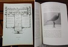 RIO - Rivista Italiana Di Ornitologia - 1947 - Anno 17 - N. 2