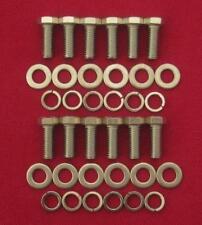 MOPAR 361 - 440 big block, exhaust headers stainless steel hex head bolts