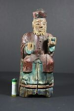 Antique Chinese Buddha in wood, China
