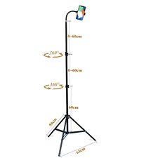Haitent Retractable Adjustable Cell Phone Tall Tripod Stand Holder for iPhone X