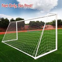 PE Football Soccer Goal Post Net Sports Training Practice Outdoor 6x4 12x6 24x8""