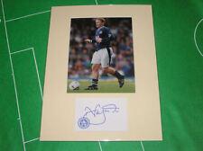 Neil Lennon Signed Leicester City Press Photo Mount