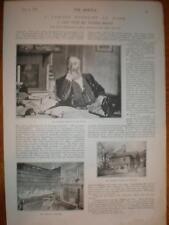 Article interview UK novelist Walter Besant 1893