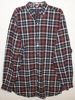 Polo Ralph Lauren Big Tall Mens 3XLT Red Black Plaid Button-Front Shirt NWT 3XLT