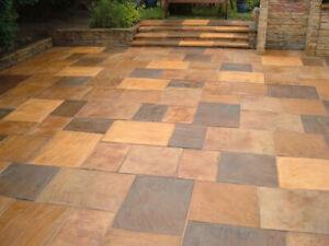 Block paving Sandstone Limestone Clay paviours 5l