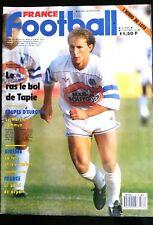 FRANCE FOOTBALL 15/9/1987; Jean Pierre Papin, l'O.M./ Giresse/ Calcio/ Bordeaux