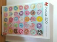 Trefl 500 Piece Adult Doughnuts Jigsaw Puzzle - NEW SEALED
