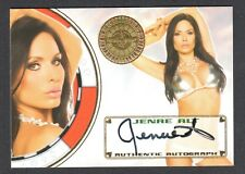 "BENCH WARMER ""VEGAS BABY"" 2012 Autograph Card Signed by JENAE ALT"