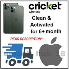 Cricket USA Clean Unlock Service Iphone 5 6 6s 6+ SE 7 7+ 8 8+ X XS XS MAX XR 11