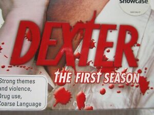 DEXTER, The First Season, Complete, Rated MA 15+, 4 Discs, Excellent Condition
