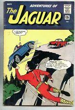 Adventures Of The Jaguar #14-1963 vg+ Black Hood Cat-Girl Catgirl Archie Superhe