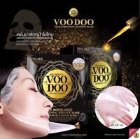 VOODOO AMEZON BOOSTER WHITE SILK WHITENING ESSENCE MASK WRINKLES TIGHT FIRM SKIN