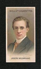 JOSEPH HOLBROOKE  ENGLISH  COMPOSER CONDUCTOR PIANIST 1914 original print