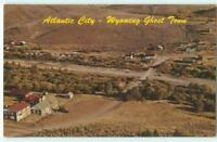 Atlantic City Wyoming Ghost Town Aerial View '70s Chrome Vintage Postcard 25157