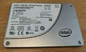 "Intel DC S3700 200GB 2.5"" 6Gb/s SATA Enterprise SSD Solid State SSDSC2BA200G3"