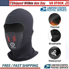 Ski Motorcycle Cycling Balaclava Full Face Mask Neck Scarf Windproof Outdoor USA