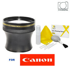 4.7X TELEPHOTO ZOOM LENS FOR CANON EOS REBEL SL1 T3 T3I T5 T7 7D 60D 80D T6
