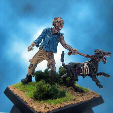 Painted Reaper Miniature Zombie Dog Walker
