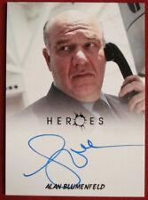 HEROES - ALAN BLUMENFELD as Maury Parkman - Autograph Card - Rittenhouse 2010