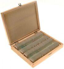 Zenith Prepared 100 Piece Microscope Slides Set. London