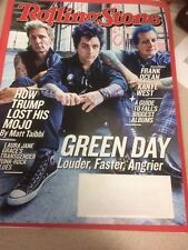 Rolling Stone Magazine Issue 1270 September 22 2016 GREEN DAY Trump KANYE WEST