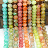 2018 new 40pcs Rondelle Faceted Crystal Glass Loose Spacer Beads DIY 8mm