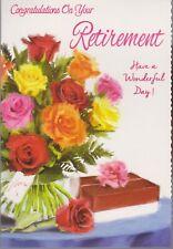 Retirement Greeting Card ~ Ladies & Gents Retirement Card