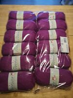 12 x king Cole 1744 orchid purple pricewise DK double knit 100g balls