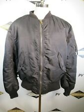 E8641 Alpha Industries Inc. Men's MA-1 Bomber Jacket Made in USA Size 2XL
