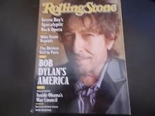 Bob Dylan - Rolling Stone Magazine 2009