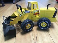 VINTAGE TONKA 80's DUMP TRUCK & FRONT END LOADER AMAZING CONDITIONS FOR AGE!