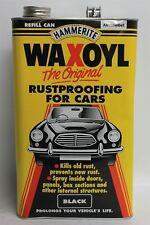 Neue Hammerite Waxoyl Original Automotive schwarz rustproofing Flüssigkeit 5L Nachfüllen können