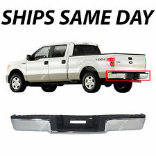 NEW Chrome - Complete Rear Steel Bumper Assembly For 2006 2007 2008 Ford F150