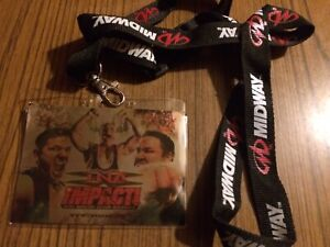Midway Games TNA iMPACT! The Video Game Lanyard 2008
