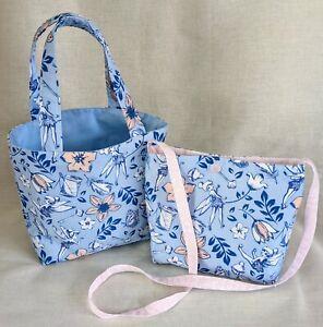 Childs DISNEY TINKERBELL Gift Bag Shopper Bag or Crossbody/Shoulder Bag Handmade