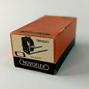 Vintage Novoflex Balson Bellows Lens Hood Unit Germany