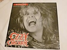 OZZY OSBOURNE – The Ultimate Concert –Live in Los Angeles 1-31-87 – rare 2 vinyl