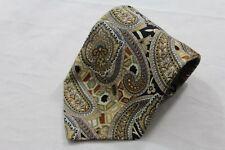 SK0234 Juka Fashion & Quality Krawatte 100% Seide gold, grün, blau, beige glänze