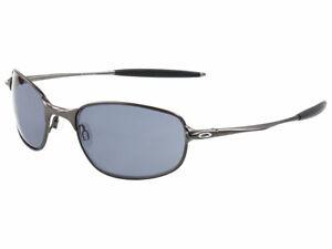 Oakley Big Square Wire Sunglasses 30-657 Pewter/Grey