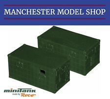 Roco Minitanks 05158 1:87 Type 2 Signal shelter set Bundeswehr