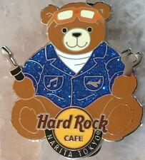 Hard Rock Cafe NARITA TOKYO 2008 Teddy Bear Series PIN Airplane Mechanic #46328