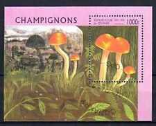 Champignons Guinée (10) bloc oblitéré