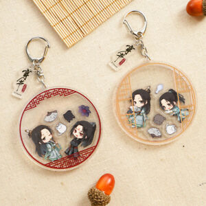 Scum Villain Self Saving System Luo Binghe Qingqiu Keychain Acrylic Pendant Bag