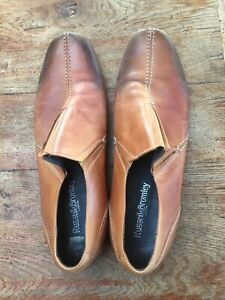 Russell & Bromley brown Ombré slip on shoes 10.5/45