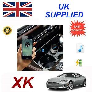 Jaguar XK Bluetooth FM Music charge module iPhone567 HTC Nokia LG Galaxy Samsung