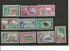 More details for pitcairn isles   (y0-77) sg1-8 pictorial full set of 10 fine mounted mint mh
