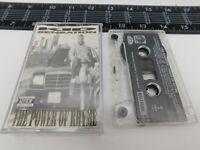 Kid Sensation Cassette The Power of Rhyme Audio Tape 7101-MC