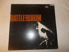 LP 12 in (environ 30.48 cm) record album LP U2 Rattle and Hum