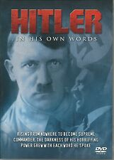 HITLER IN HIS OWN WORDS DVD - RISING FROM NOWHERE TO BECOME SUPREME COMMANDER